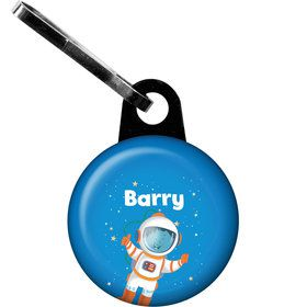 Rocket to Space Personalized Zipper Pull (Each)