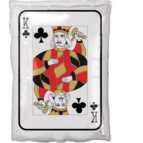 "Roll the Dice King and Ace Card 17"" Balloon"
