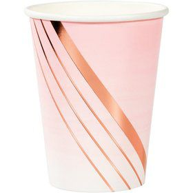 Rose All Day 12oz. Paper Cups (8)