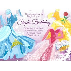 Royal Princess Personalized Invitation (Each)
