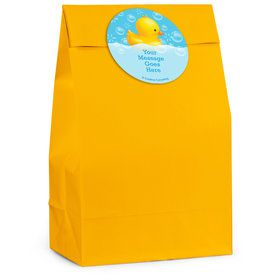 Rubber Duck Personalized Favor Bag (12 Pack)