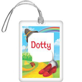 Ruby Slippers Personalized Bag Tag (each)