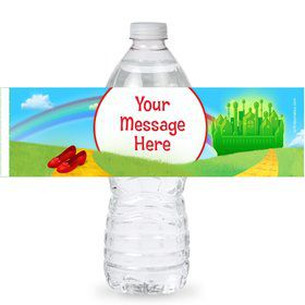 Ruby Slippers Personalized Bottle Labels (Sheet of 4)