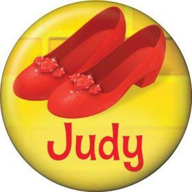 Ruby Slippers Personalized Mini Button (each)