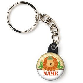 "Safari Adventure Personalized 1"" Mini Key Chain (Each)"
