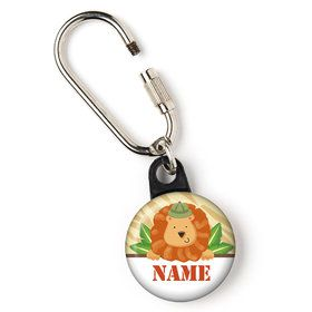 Safari Adventure Personalized Zipper Pull (Each)