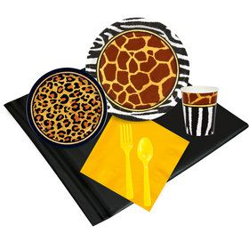 Safari Animal Adventure 24 Guest Party Pack