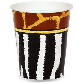 Safari Animal Adventure 9 oz. Paper Cups