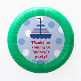 Sail Party Personalized Mini Discs (Set of 12)