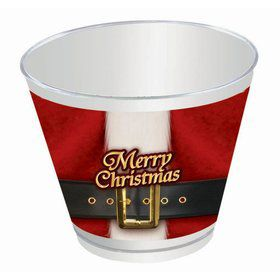 Santa's Belt Christmas 9oz. Cups (8)