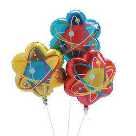 Science Party Mylar Balloons (3)