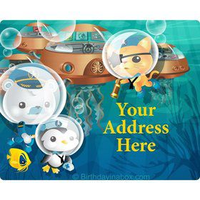 Sea Explorer Personalized Address Labels (Sheet of 15)