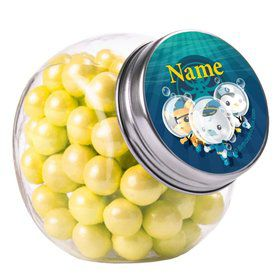 Sea Explorer Personalized Plain Glass Jars (10 Count)