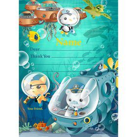 Sea Explorer Personalized Thank You (Each)