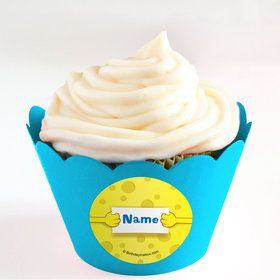 Sea Sponge Personalized Cupcake Wrappers (Set of 24)