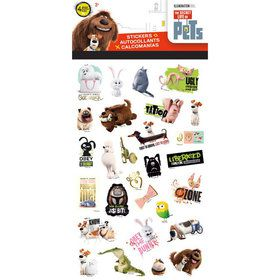 Secret Life Of Pets Stickers (4 Sheets)