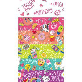 Selfie Celebration Paper Tablecover