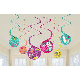 Selfie Celebration Swirl decoration (8)