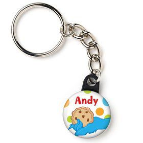 "Sesame Friends Personalized 1"" Mini Key Chain (Each)"