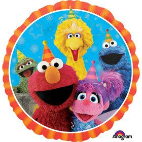 "Sesame Street 17"" Balloon (Each)"