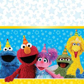 Sesame Street Plastic Table Cover (each)