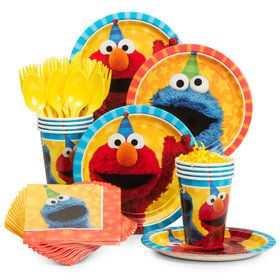 Sesame Street Standard Tableware Kit (Serves 8)