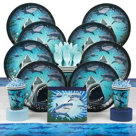 Shark Party Deluxe Kit (Serves 8)