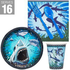 Shark Party Snack pack For 16