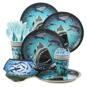 Shark Party Standard Kit (Serves 8)