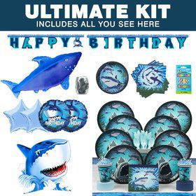 Shark Party Ultimate Kit (Serves 8)