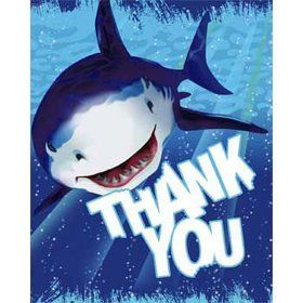 Shark Thank You Notes (8-pack)
