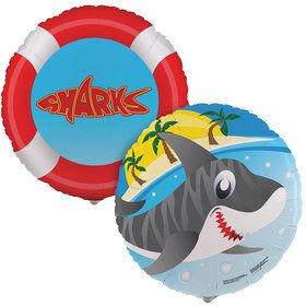Sharks Foil Balloon