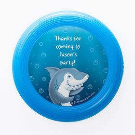 Sharks Personalized Mini Discs (Set of 12)
