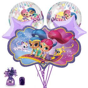 Shimmer and Shine Deluxe Balloon Bouquet Kit