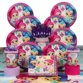 Shimmer and Shine Deluxe Tableware Kit (Serves 8)