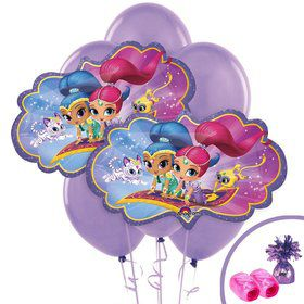 Shimmer and Shine Jumbo Balloon Bouquet