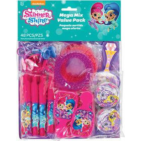 Shimmer and Shine Mega Mix Favor Pack (48 Pieces)