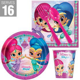Shimmer and Shine Snack Pack For 16