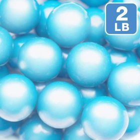 Shimmer Powder Blue Gumballs 2lb (Each)