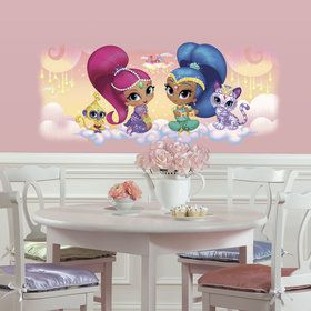 Shimmer Shine Burst Giant Wall Decal