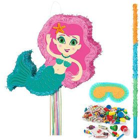 Shimmering Mermaid Splash Pinata Kit