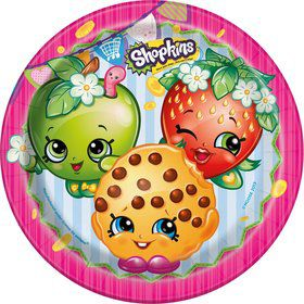 "Shopkins 9"" Lunch Plates (8 Count)"