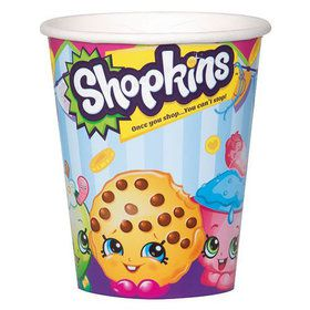 Shopkins 9 oz Cups (8 Count)