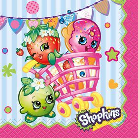 Shopkins Beverage Napkins (16 Count)