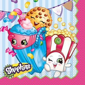 Shopkins Lunch Napkins (16 Count)