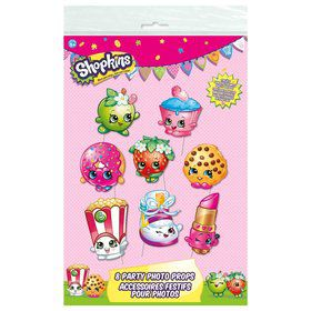 Shopkins Photo Booth Props (8 Count)
