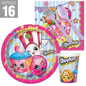 Shopkins Snack Pack For 16