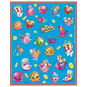 Shopkins Sticker (4 Sheets)