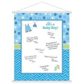 Shower With Love Baby Boy Sign-In (Each)