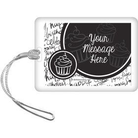 Signature Birthday Personalized Bag Tag (Each)